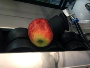 SmartPackr pakt appel voorzichtig op